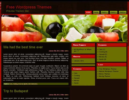 Eating Healthy WP WordPress Theme