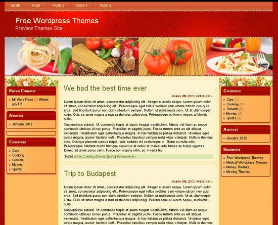 Vito's Restaurant WordPress Theme