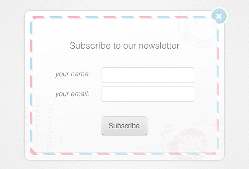 ฟรี Newsletter Box